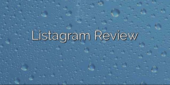 Listagram Review