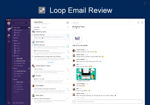 Loop Email Review