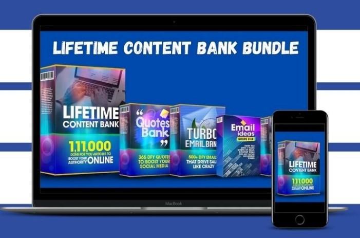 Lifetime Content Bank Review