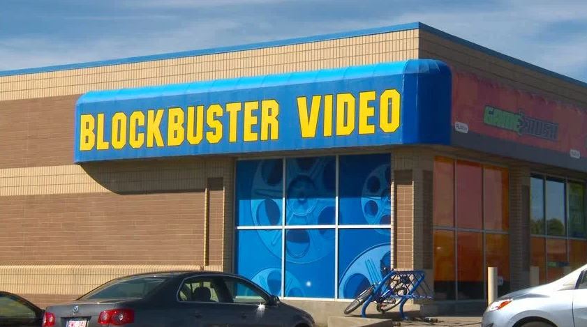 Bankrupt Blockbuster Stock Share
