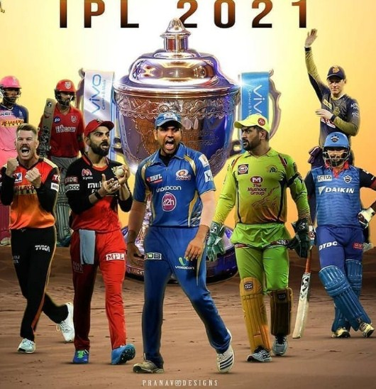 Teams of IPL 2021
