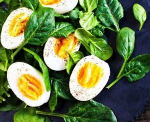 Weekend meal egg