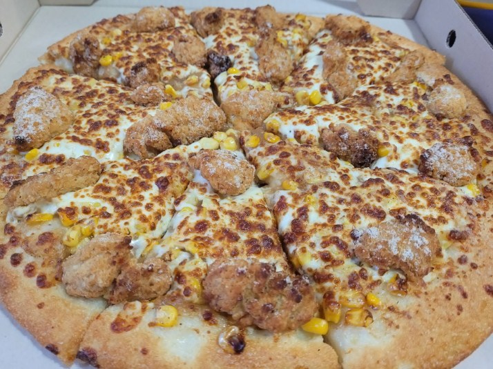 Weekend meal Pizza
