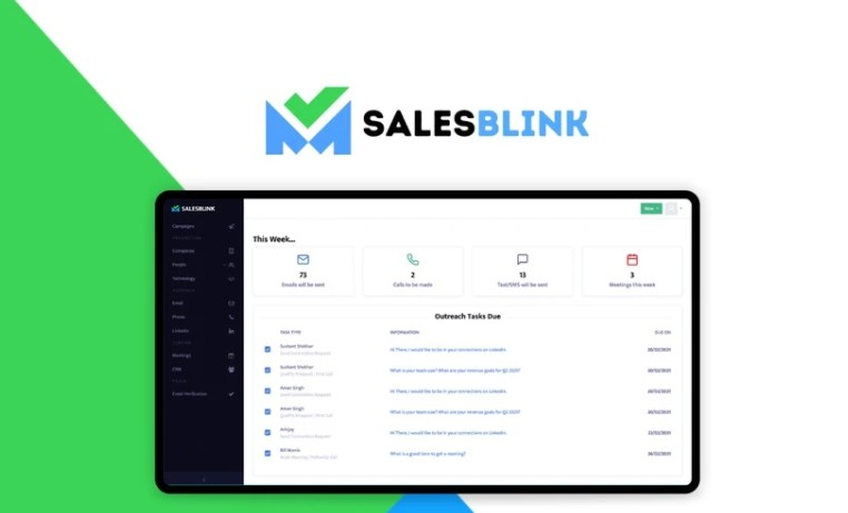 SalesBlink Appsumo