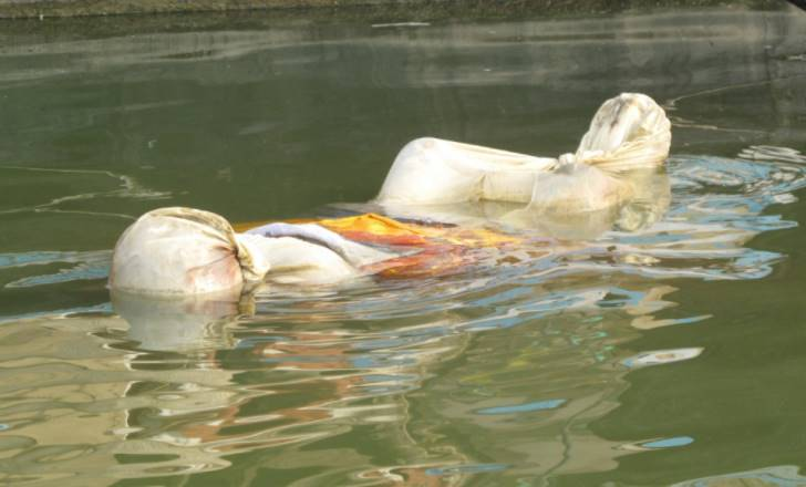 More than 50 bodies floating in the Ganga, suspected Covid victims