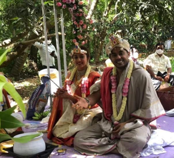 Pranitha-Nithin Wedding Click