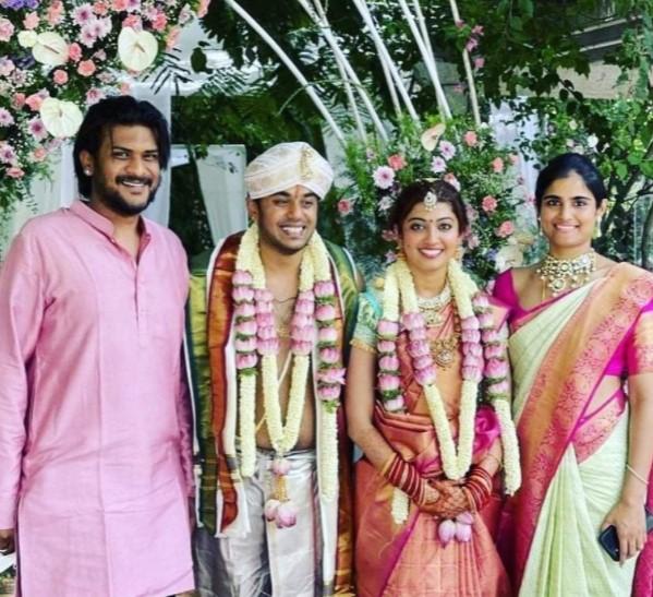 Pranitha-Nithin Marriage Photo