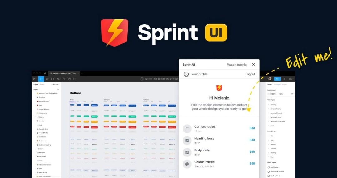 Sprint UI