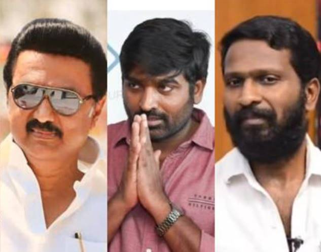 Tamil cinema celebrities are expressing their congratulations to MK Stalin