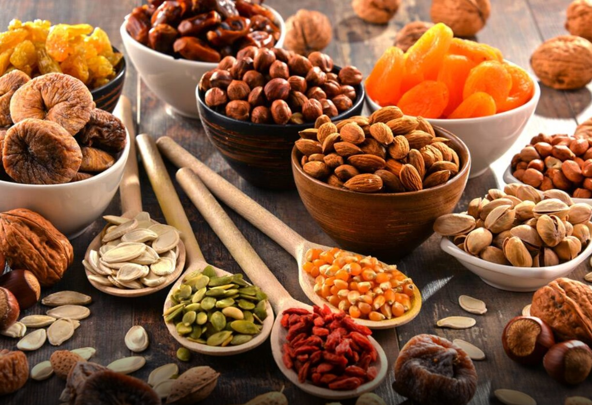 dryfruits and nuts