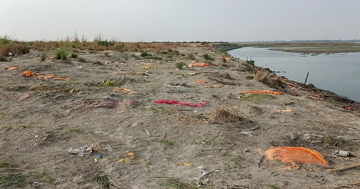 Two Dead Bodies found in Ganga