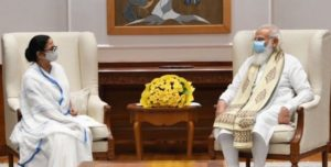 Mamata Banerjee met Prime Minister Narendra Modi