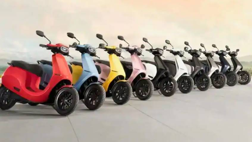 Ola Electric Scooter to come out in 10 beautiful Colours