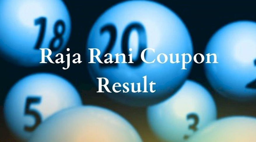Raja Rani Coupon Result