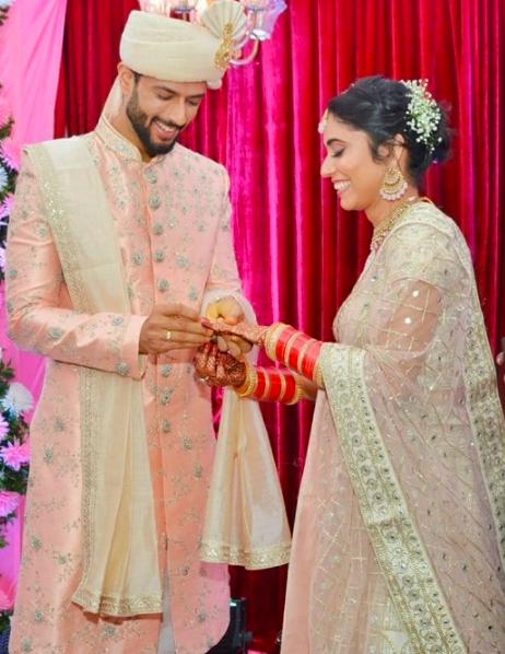 Shivam Dube Wedding Photos