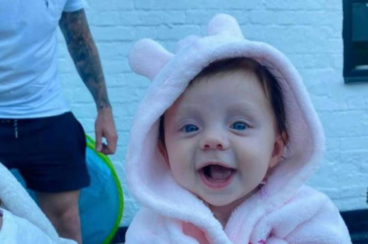 The 5-month-old baby girl turning to stone due to rare disease in UK
