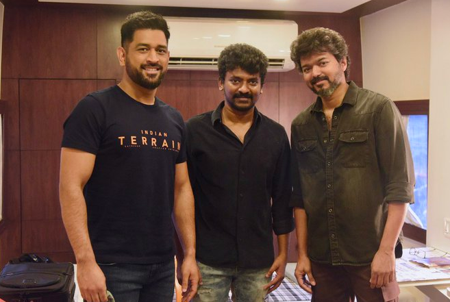 Beast Director Nelson with Thala and Thalapathy