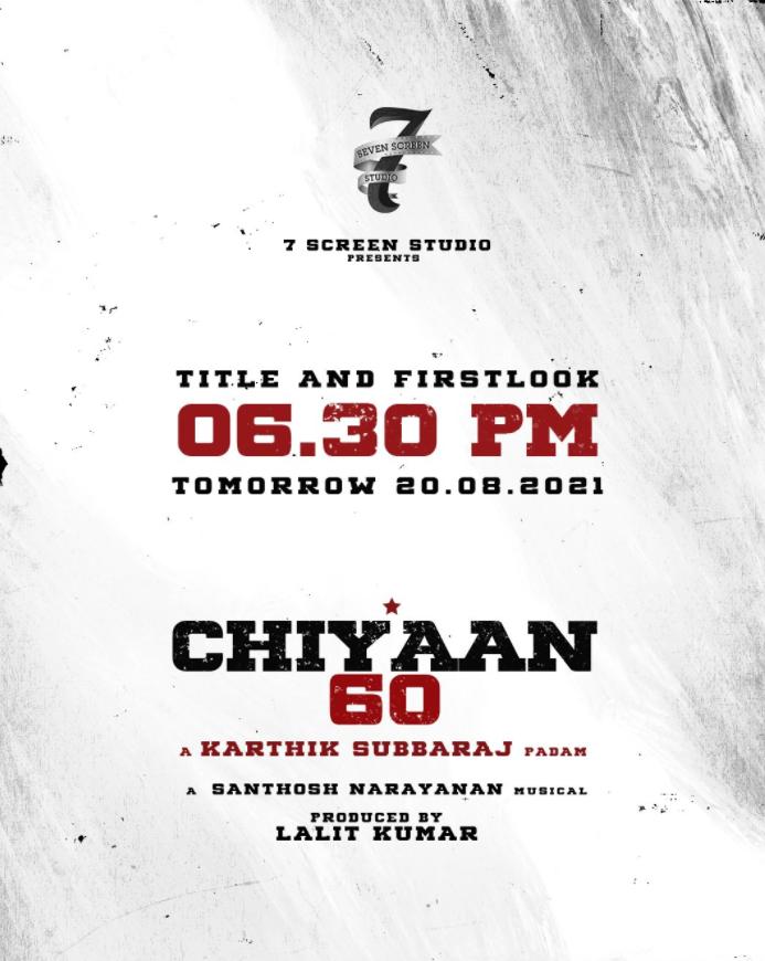 Chiyaan 60 First Look