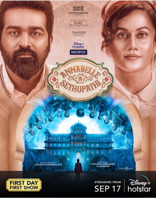 First-look poster of Annabelle Sethupathi