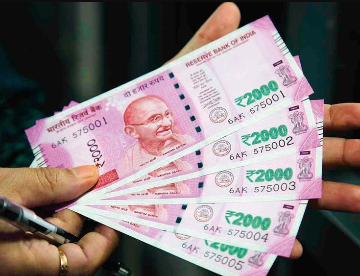 Rupees fall 5 paise to 74.24 against US dollars inearly trade