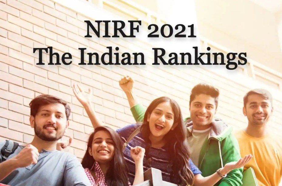 NIRF Ranking list of top institutions on 11 categories allover India